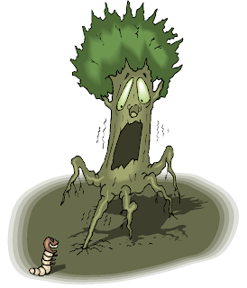 Scary Tree Free Clipart