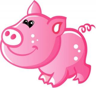 dibujos de cerdos para imprimir