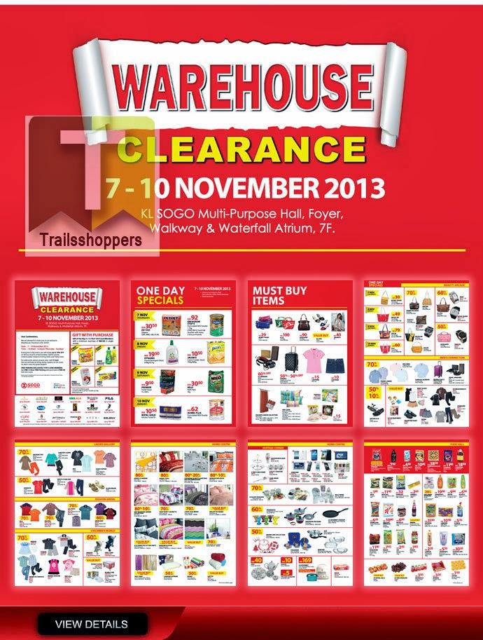 KL Sogo Warehouse Clearance 2013