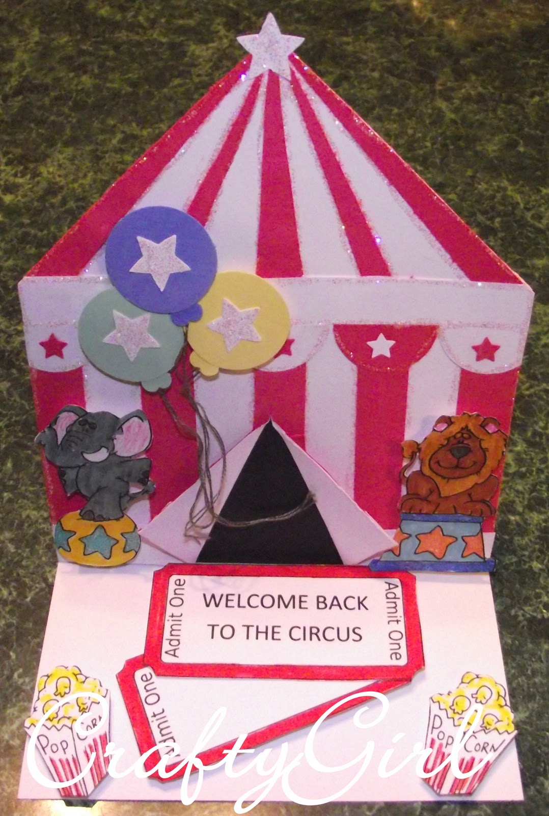 Circus Tent Template With here circus tent