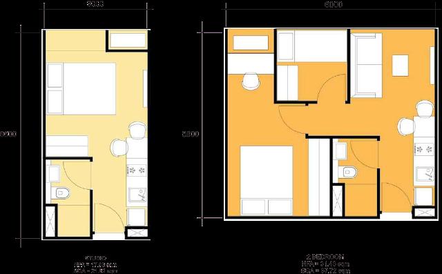 type apartemen tamansari urbano