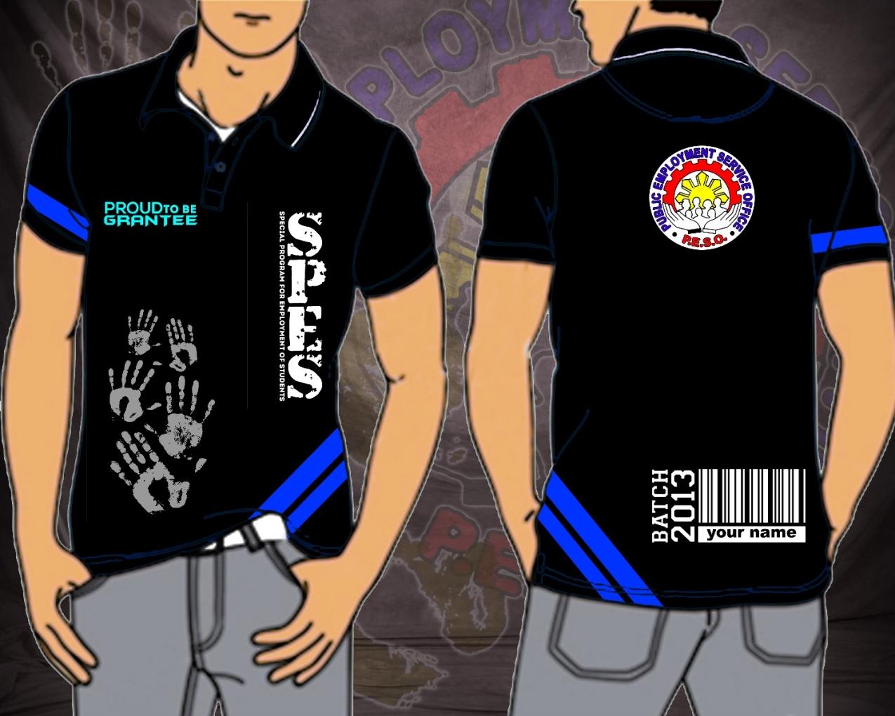 Design t shirt uniform - Final Design Of The Spes Batch 2013 T Shirt