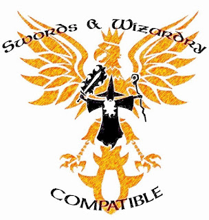 Swords & Wizardry Compatibility Logo Free For Publisher Use