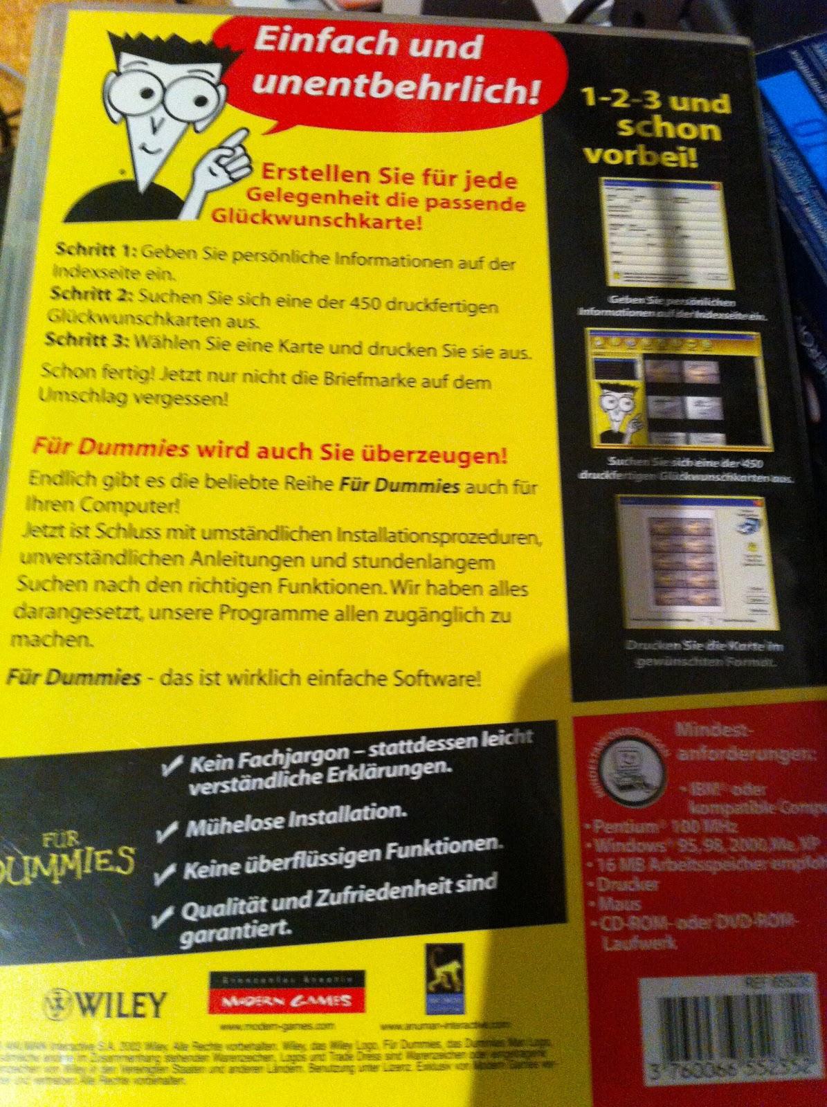 Ebay Kleinanzeigen Aachen: Kleinanzeigen Aachen: PC Programme Für Dummies