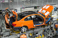 BMW M3 Coupe factory