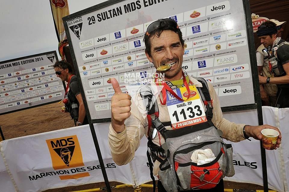 Maraton de sables 2014