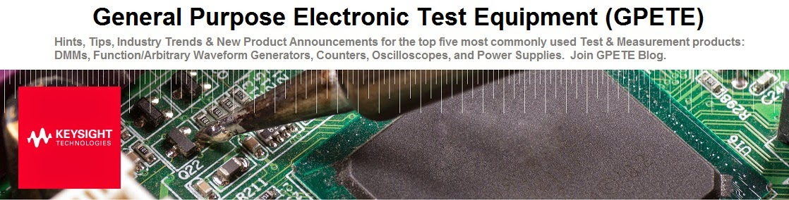 General Purpose Electronic Test Equipment (GPETE)