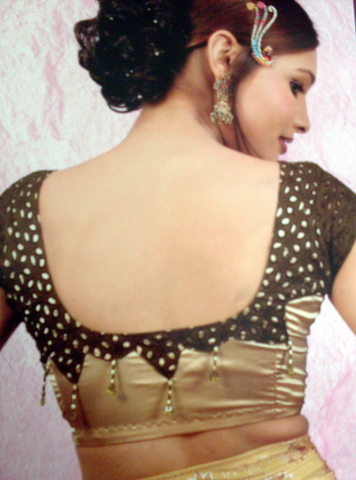 Special blouse designs anjali dresses all about ladies for Designs com