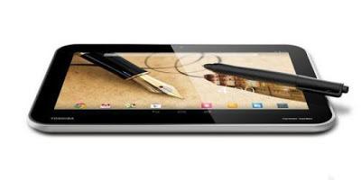 Toshiba Excite Write, Generasi Tablet Toshiba
