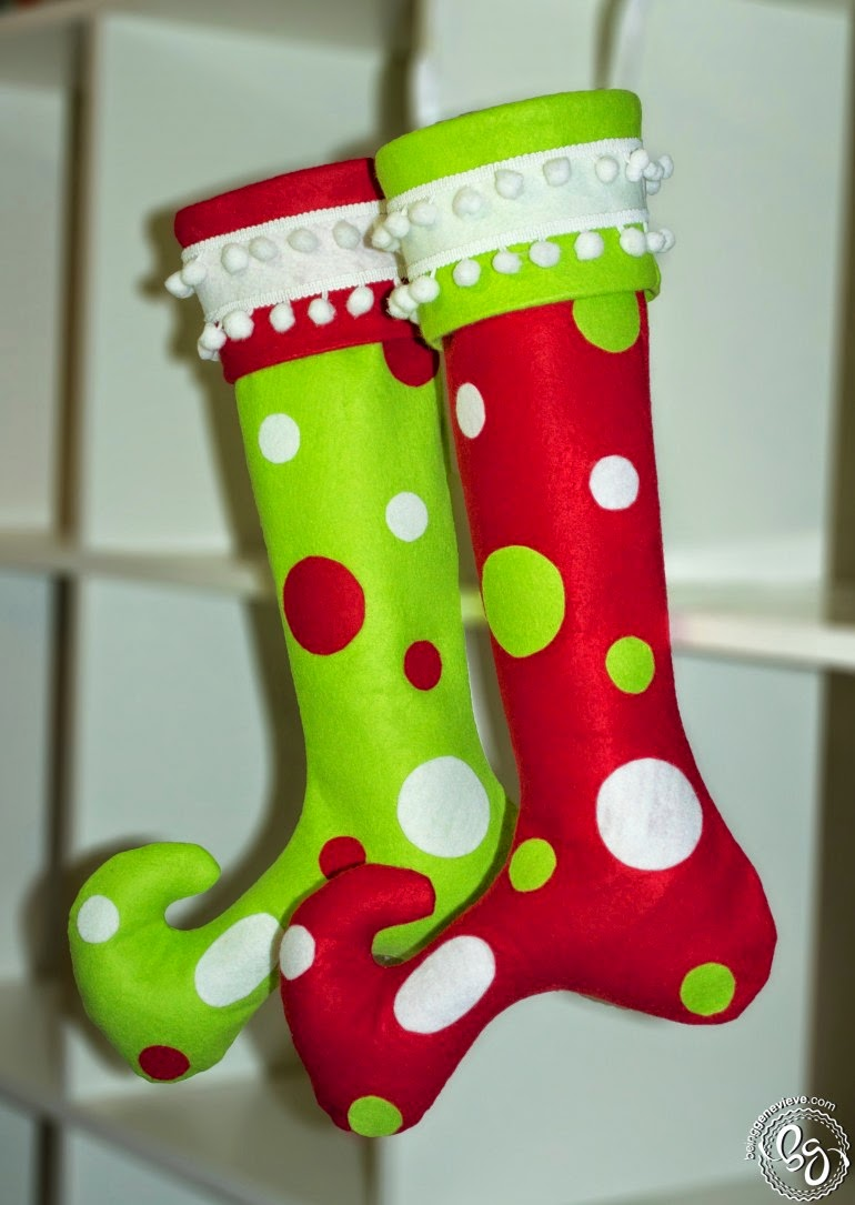 Christmas Stocking With Cuff Pattern