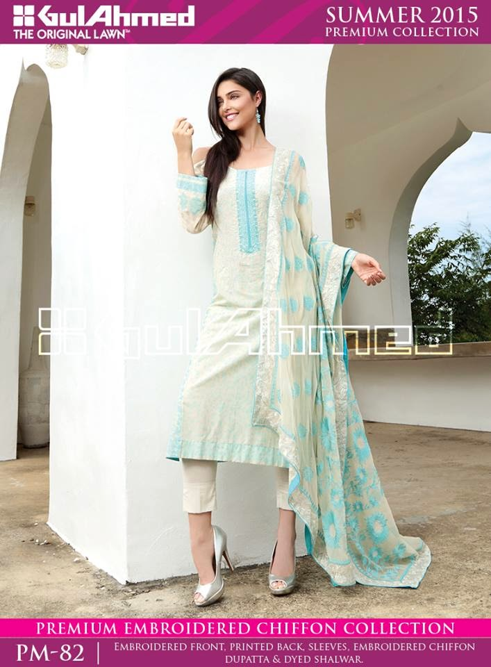 Gul Ahmed Chiffon Summer Lawn Prints