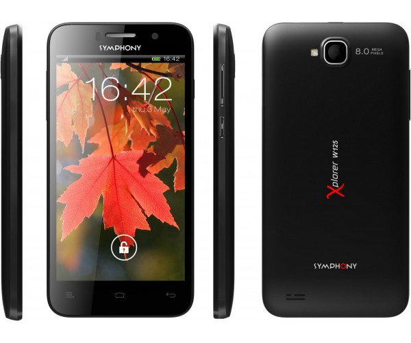 Symphony W125 full specifications
