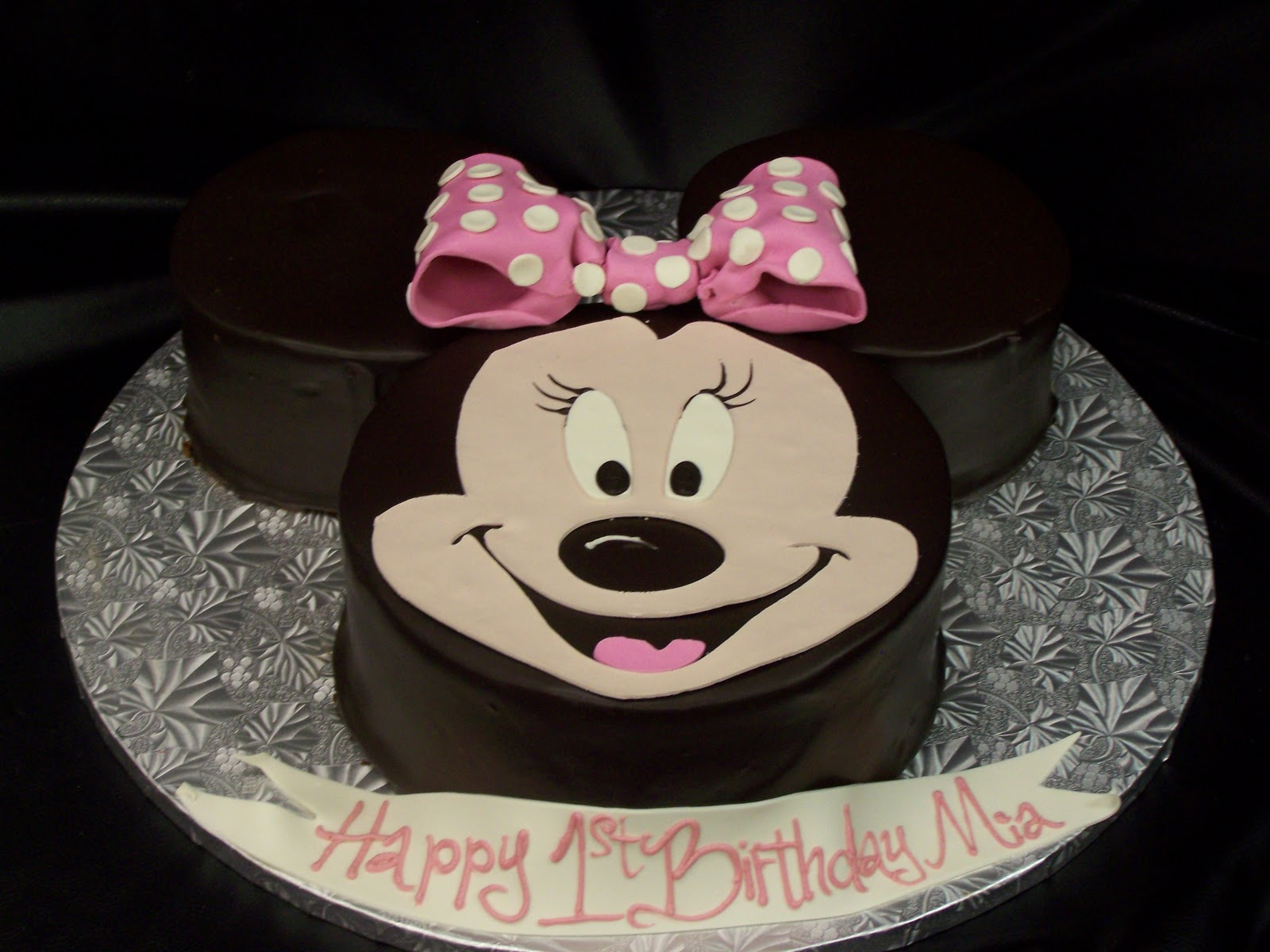 Minnie Birthday Cake Image Inspiration of Cake and Birthday