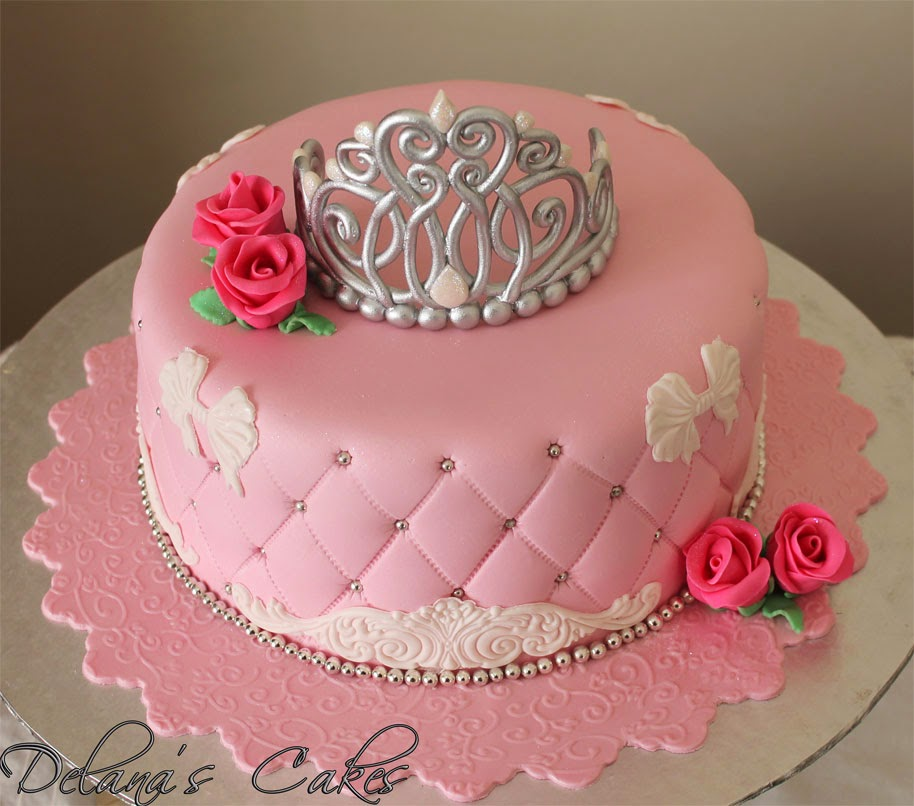 delana u0026 39 s cakes  princess crown cake