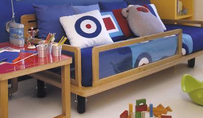 almofadas para quarto de criança