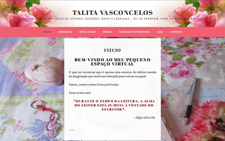 Autora Talita Vasconcelos