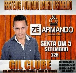 SEXTA 05/09 - BARRO VERMELHO