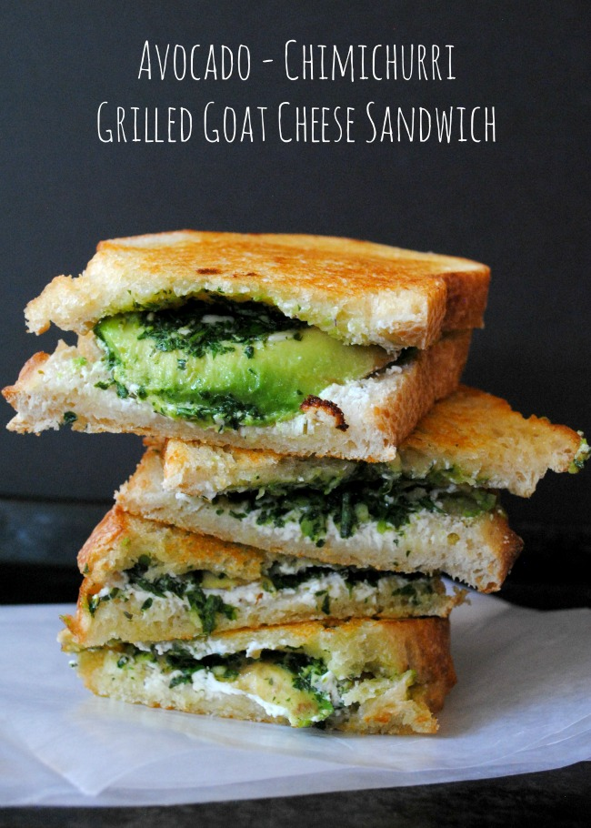 A Clove of Garlic, A Pinch of Salt: Grown-Up Grilled Cheese