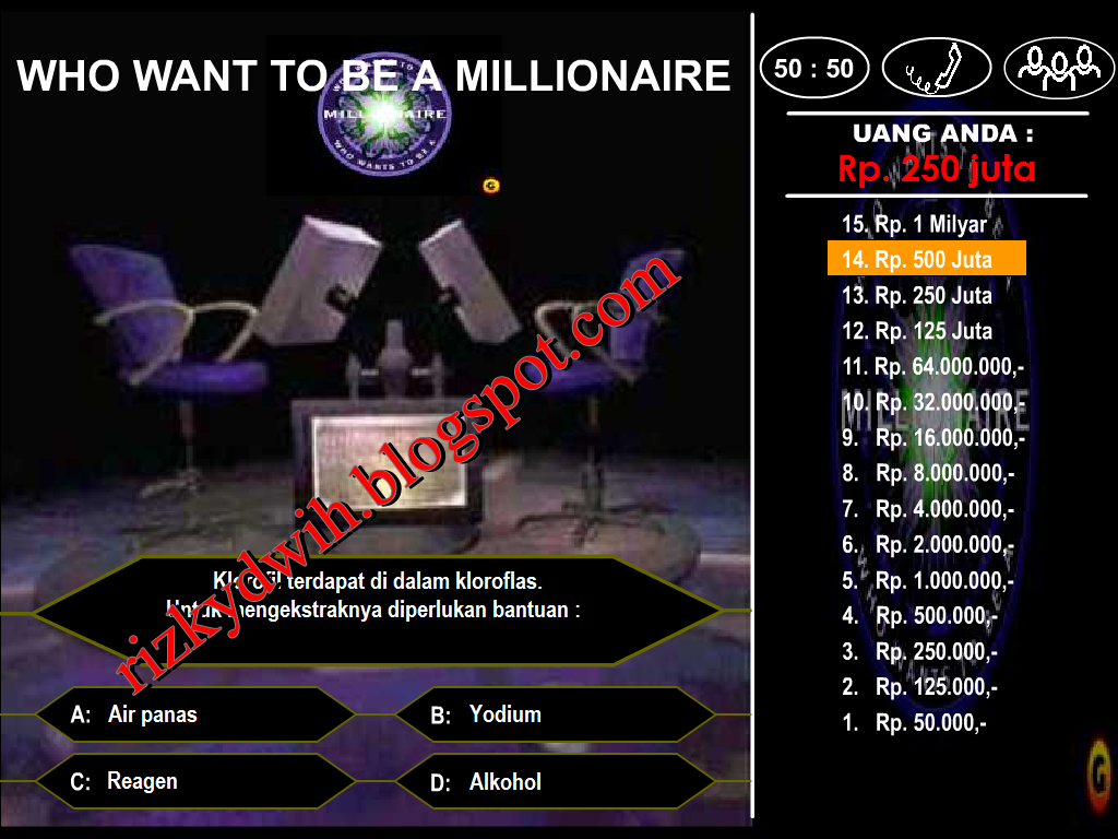 who want to be a millionaire indonesia game pc