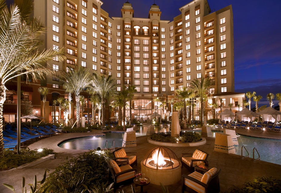 On Location Wyndham Grand Orlando Resort Bonnet Creek In Florida