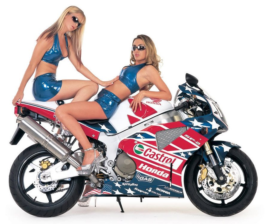 Bikes Wallpapers Honda Motorcycles On Girl