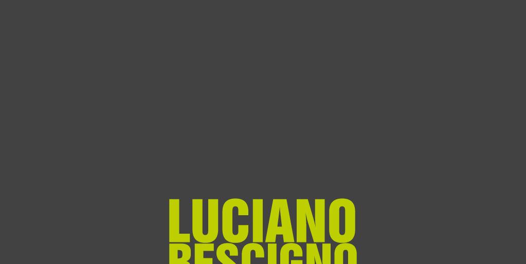 Luciano Rescigno - Direção de arte