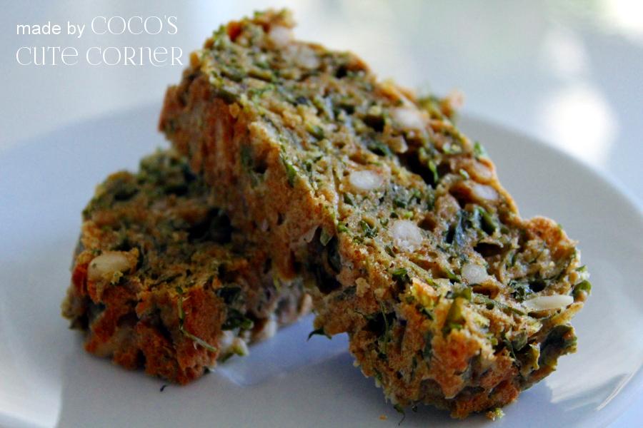 Coco S Cute Corner Rucola Brot Ein Herzhafter Kuchen