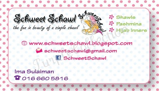 Personalised Business Cards, polka dots
