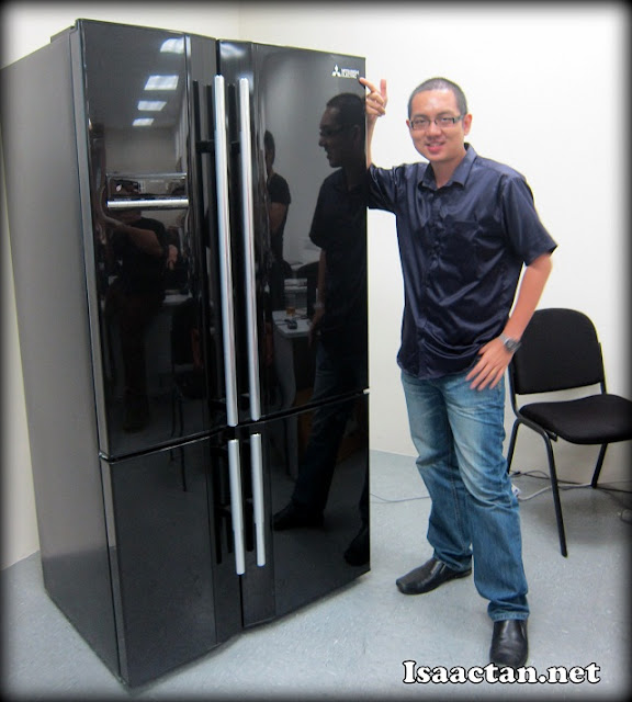 That's a pretty big fridge!