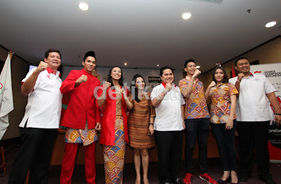 Batik Olimpiade London 2012