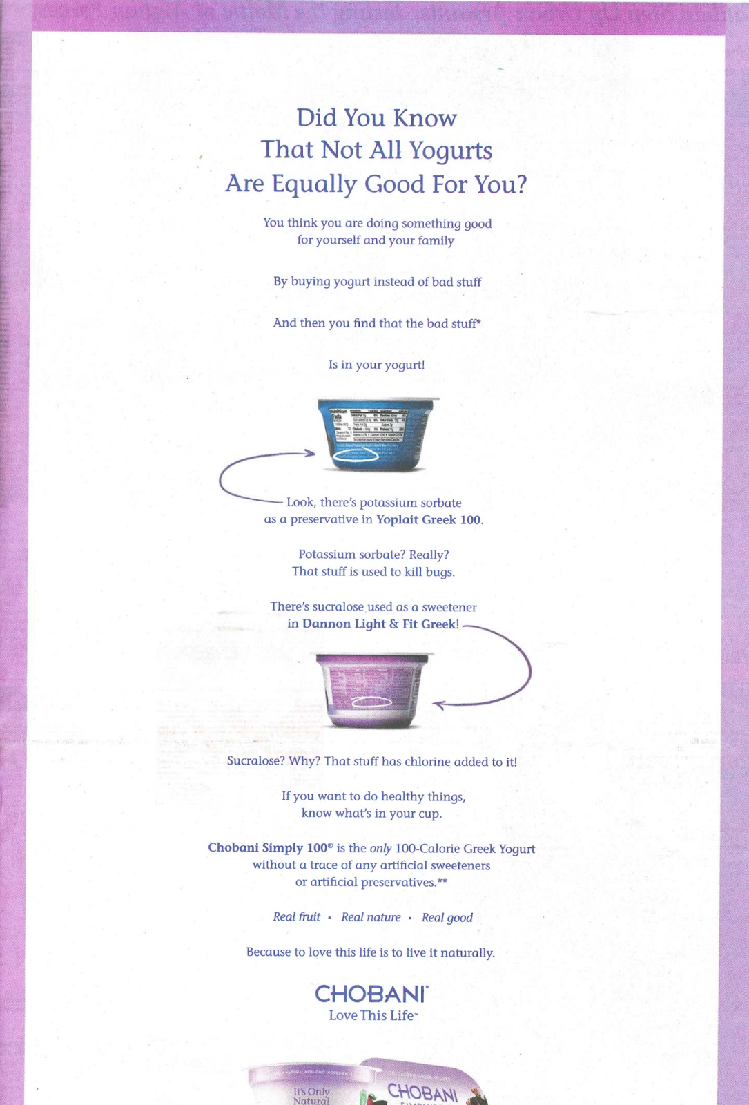 Rebecca tushnets 43blog its all greek to me chlorine claims print ad falaconquin