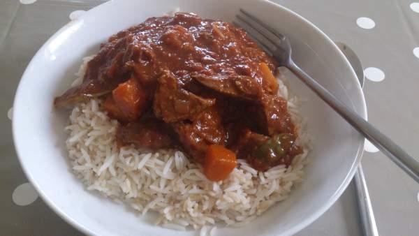 Post Run Lamb Curry