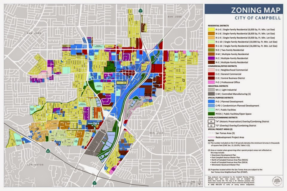 Beautiful San Jose Zoning Map Images - Printable Map - New ...