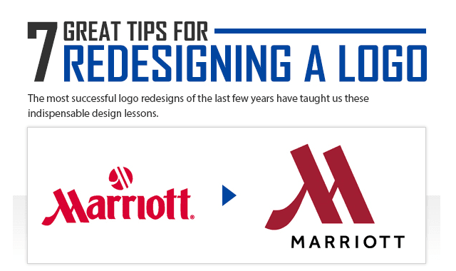 7 Great Tips for Redesigning a Logo