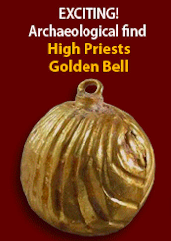 Exciting Archaeological Find - High Priests Golden Bell.