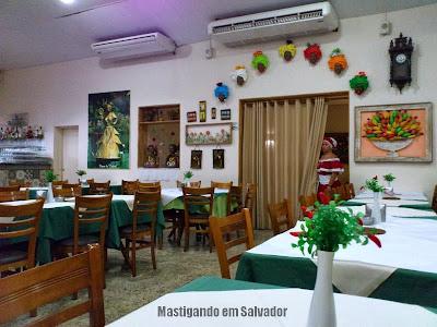 Restaurante Ki-Mukeka: Ambiente da unidade do Jd. Armação