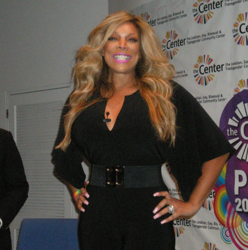 Seen: Wendy Williams at the Center in NYC title=