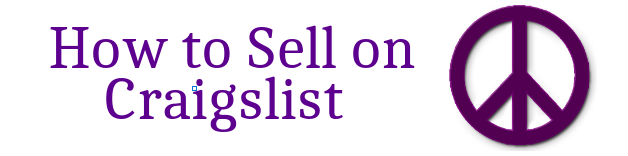 My Thread of Thought How to Sell on Craigslist Tutorial