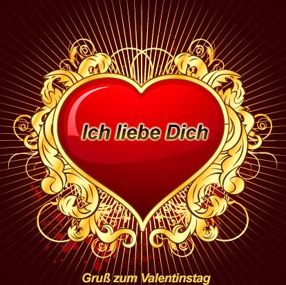 Ich Liebe Dich. Valentinstag