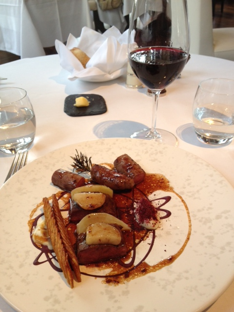 notes from my kitchen table lunch the ledbury