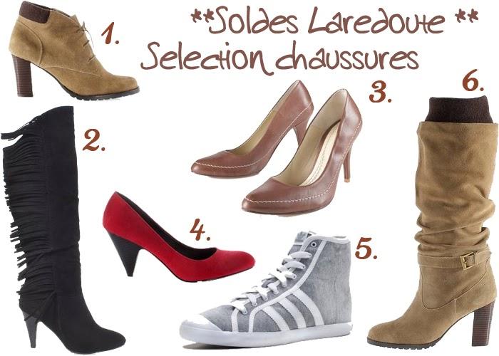 mes bons plans shopping soldes la redoute focus chaussures. Black Bedroom Furniture Sets. Home Design Ideas