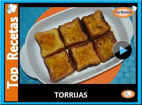 RECETA- TORRIJAS
