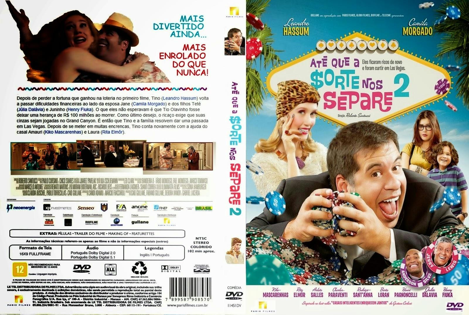 Até Que A Sorte Nos Separe 2 DVD Capa