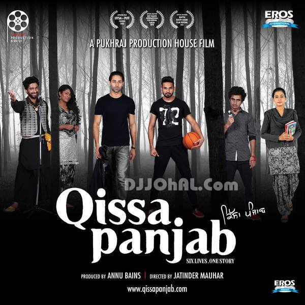 Poster Of Qissa Panjab 2015 480p DVDRip 1CDRip Punjabi Full Movie
