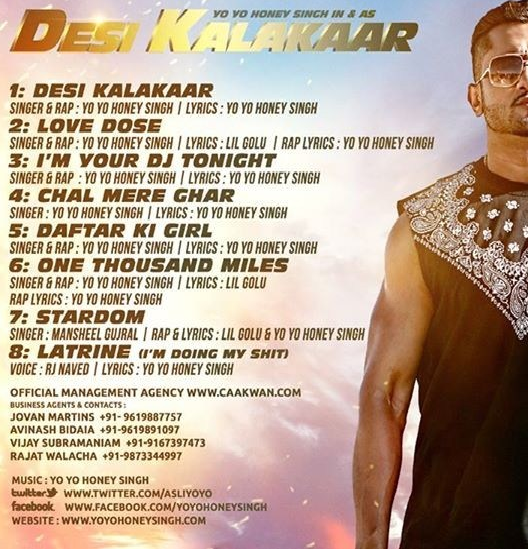 Official Desi Kalakaar Full VIDEO Song  Yo Yo Honey Singh  Honey Singh New Songs 2014