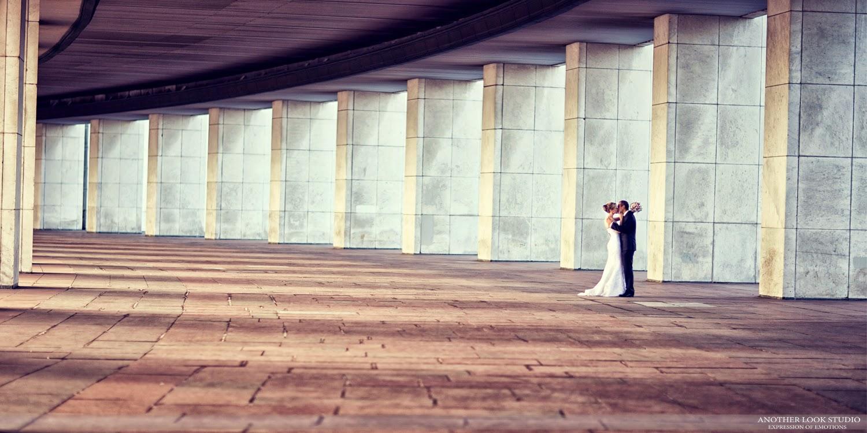 креативная свадебная фотография