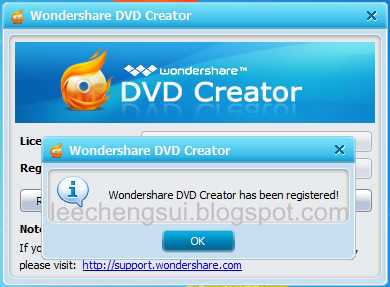wondershare dvd creator free crack