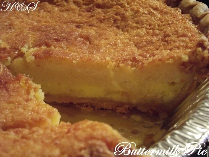 Buttermilk Pie Recipe — Dishmaps