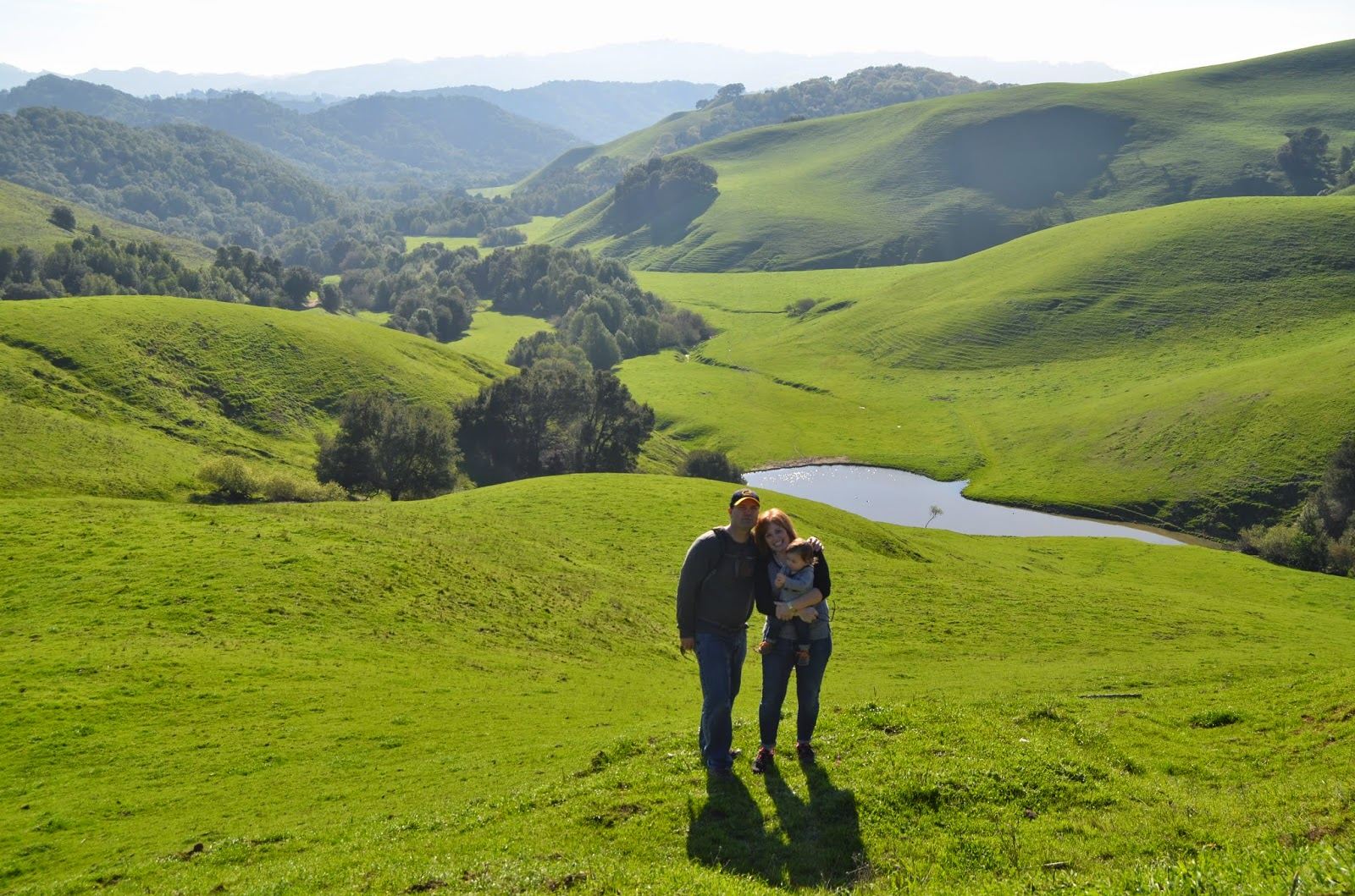 Hiking and running in Briones Regional Park