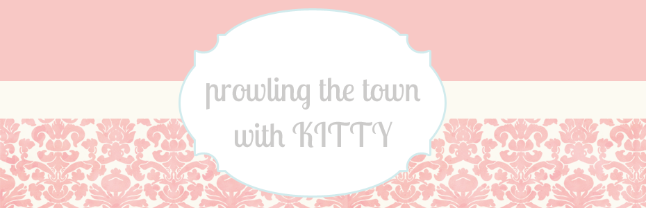 Prowling the town with Kitty